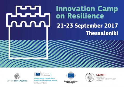 1st Innovation Camp on Resilience poster